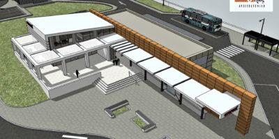 M.S.B. Architectural Preliminary Study - 3D Model