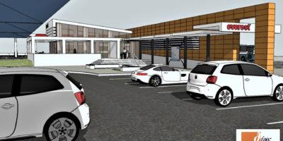 M.S.S. Architectural Preliminary Study - 3D Model